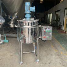 1000L大型胶水搅拌罐 胶黏剂加热刮壁搅拌罐 化工反应釜
