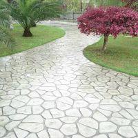 邢台彩色压印地坪健身步道透水混凝土胶凝剂施工方案,厂家直销,轻集料混凝土