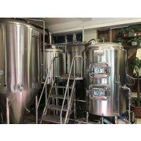 宁夏小型精酿啤酒厂生产设备,啤酒设备免费安装,全新酿酒技术培训