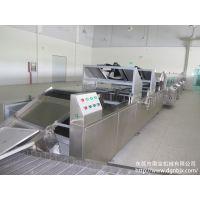 供应旺仔小馒头生产线 隧道电烤炉 食品机械