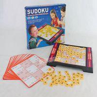 儿童益智数独棋盒装 九宫格数字游戏 亲子互动桌游玩具 批发