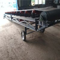株洲小型皮带输送机批发 滚筒式专业生产皮带运输机设备
