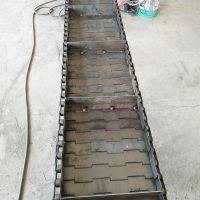 供应高品质金属链板 螺丝螺母输送碳钢流水线 宁津卓远输送设备