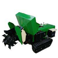 农田柴油履带深耕机 可以挖深沟的履带机 甘蔗地施肥回填机
