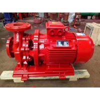 卓全卧式多级消防泵XBD6.2/35G-L 37kw酒店消防泵切压泵