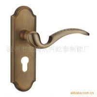 厂家定制屹泰2513HGT铜质单舌执手机械门锁 执手锁门锁批发