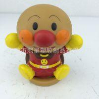日本咸蛋超人PVC搪胶公仔 BB哨迷你小玩具 环保软胶儿童玩偶定制