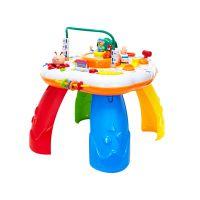 谷雨8866和谐号儿童多功能双语可游戏学习桌宝宝早教启蒙益智玩具
