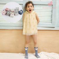 秋季新款婴儿袜带防滑胶 可爱卡通儿童中筒袜1岁至5岁宝宝袜子