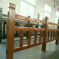 厂家制造水泥仿木护栏 水泥混凝土仿树桩护栏桥栏杆定做
