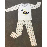 18新款波姆熊冬季纯棉儿童家居服批发