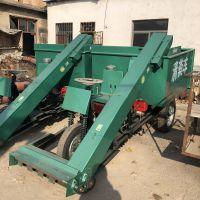 耐用型刮板式清粪车 电启动柴油装粪车 中泰机械