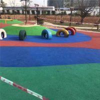 长沙儿童乐园橡胶地坪/13mmEPDM颗粒/安全环保/剑桥体育全国施工