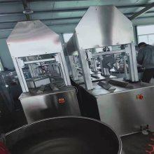厂家直销不锈钢屠宰设备猪头劈半机 电动液压猪蹄劈半机生猪屠宰
