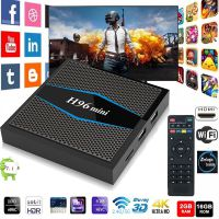 H96 Mini 安卓7.1电视盒 S905W 4K高清智能网络机顶盒2.4G/5GWifi