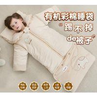 秋冬季婴儿睡袋被子冬装包脚带袖防踢被秋冬便携式冬款女婴男宝宝
