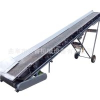 箱装白酒装车输送机平板输送机便捷型可移动式皮带输送机