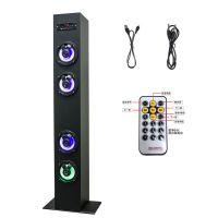 热销 MUISCCROWN Tower speaker 超大功率 落地式 插卡蓝牙音箱 CE FCC