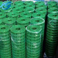 包塑的绿色铁丝网 绿色养鸡栏