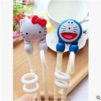 KT儿童学习筷 叮当用餐矫正筷子 疯狂动物城兔子训练筷狐狸练习筷