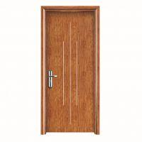 白色油漆实木门 现代简约室内门静音套装门 欧式生态卧室门定制
