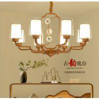美式全铜水晶吊灯客厅灯简约陶瓷卧室灯北欧现代大气纯铜欧式奢华吊灯