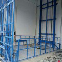 导轨液压升降货梯 简易电梯液压提升机升降平台