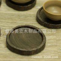 定制茶杯垫 实木手工艺品碗垫家居餐饮生活用品茶具配件