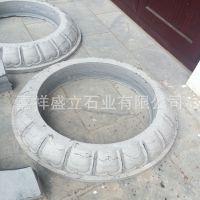 批发制作青石仿古柱础 寺庙柱子底座柱墩石 可批发定做