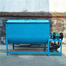 卧式塑料搅拌机 200kg 新款小型卧式饲料混合搅拌机 销售