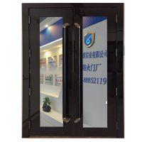 山东大玻璃不锈钢防火门设计精巧获得客户认可