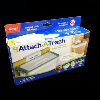 Attach-A-Trash 挂钩式门后收纳架 厨房垃圾架 橱柜垃圾袋垃圾桶