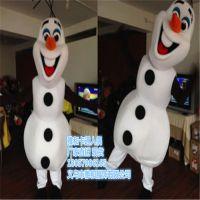 厂家直销冰雪奇缘卡通人偶雪宝吉祥物服装人穿行走玩偶外贸代发