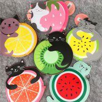韩版可爱系列~热带水果猫咪零钱包 公车卡片包钥匙扣挂饰 6款