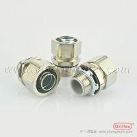 铜镀镍接头,电线电缆保护软管接头,穿线接头