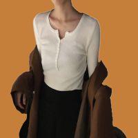 秋季韩版女装休闲套头针织坑条毛衣 库存货源女式打底衫夜市批发
