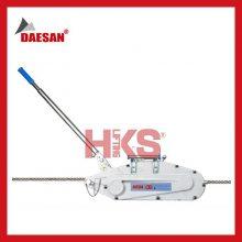 韩国DAESAN手摇绞车 DW型钢丝绳手扳牵引机 1.6T~3.2T