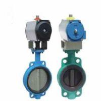 D671J, D641J气动衬胶蝶阀,用于控制非腐蚀性或一般腐蚀性的介质