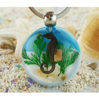 海洋创意钥匙扣 海边旅游纪念品 儿童节日礼品 小学生暑假礼品