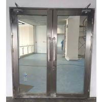 重庆玻璃防火门厂家黑钛不锈钢定制