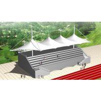 湖北十堰膜结构学校看台顶棚生产厂家