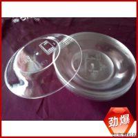 透明塑料盘 优质透明塑料盘 水晶透明塑料盘 PS塑料盘定制生产