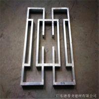 专业生产仿古门窗铝花格 铝窗格厂家加工定制工艺