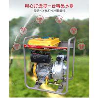 路德维希柴油2寸高压消防自吸泵柴油水泵农田高山灌溉高扬程泵