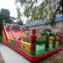 小猪佩奇新款充气淘气堡充气蹦蹦床游乐设备儿童乐园新款充气城堡滑梯