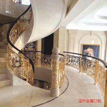 到底有多热爱铝艺楼梯扶手,才能装修出这样的家!