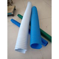 PVC工业通风吸尘管道伸缩螺旋软管排气塑筋管批发
