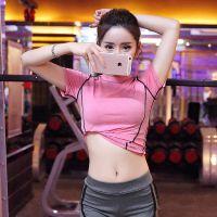 韩国夏秋新款瑜伽服女健身房专业跑步运动显瘦速干大码健身服套装