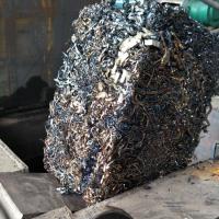 卧式废铁皮铝箔刨钢花压块机设备一机多用 巩义龙联金属压块机生产厂家