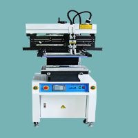 厂家供半自动锡膏印刷机ZS-400E 正思视觉PCBA印刷机 SMT丝印机